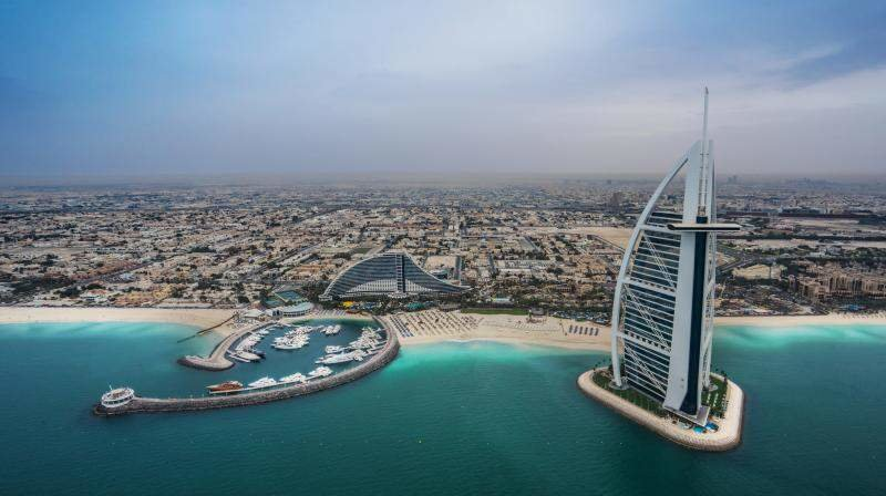 Самые лучшие пляжи Дубая. Фото