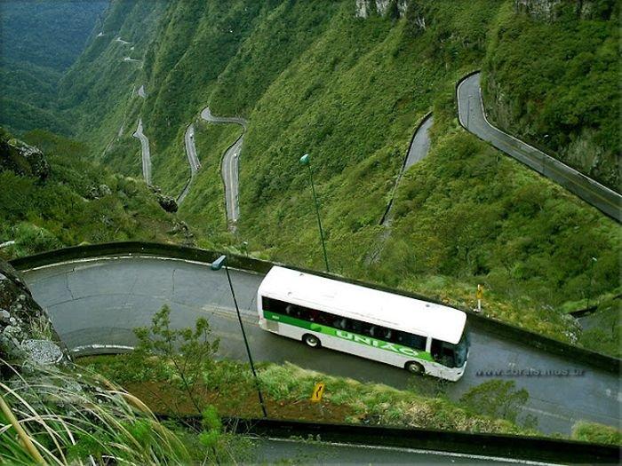Самые опасные дороги в мире (91 фото) » Триникси