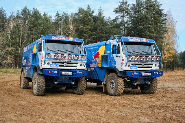 Тест гоночного грузовика КамАЗ-Мастер