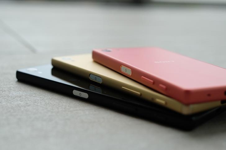 Три новых смартфона Sony семейства Z5