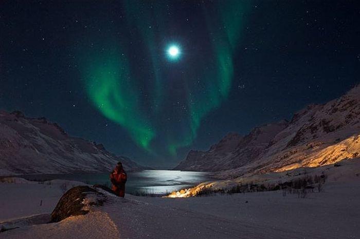 Удивительное северное сияние (96 фото) » Триникси
