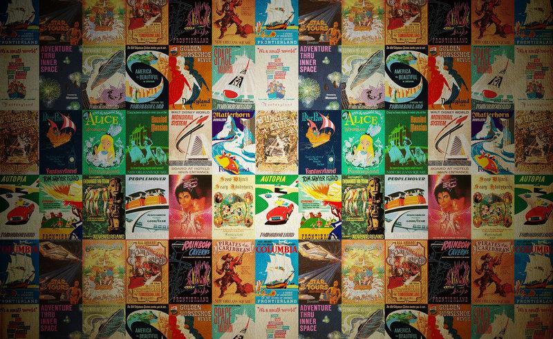 Винтажные постеры Disney