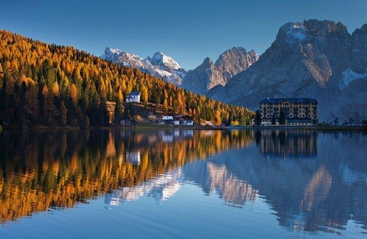 Золотая осень в горах. Фото: Daniel Rericha