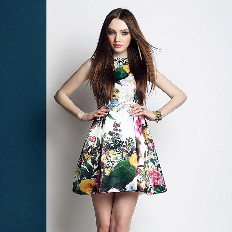 Платья весенние картинки