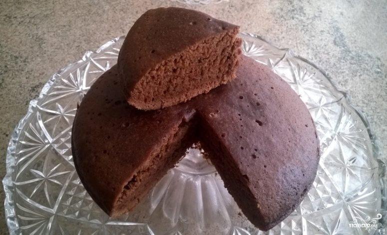 торт с фото в мультиварке