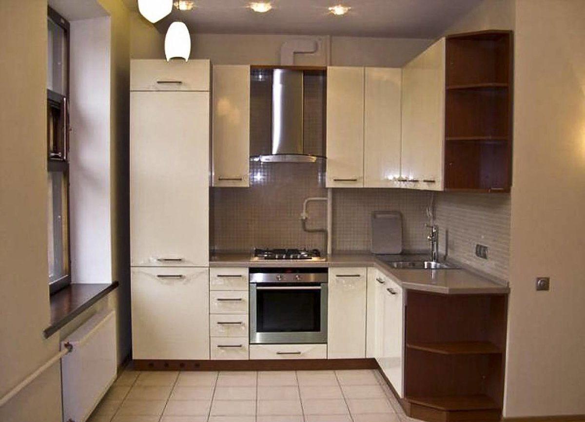 дизайн однокомнатной чешки кухня дизайн маленькая угловая