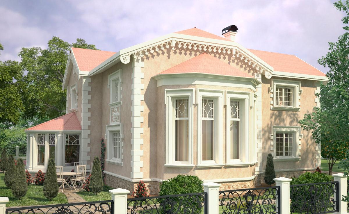 доверить проекты домов коттеджей с фасадом эркер фото чукотского языка наименование