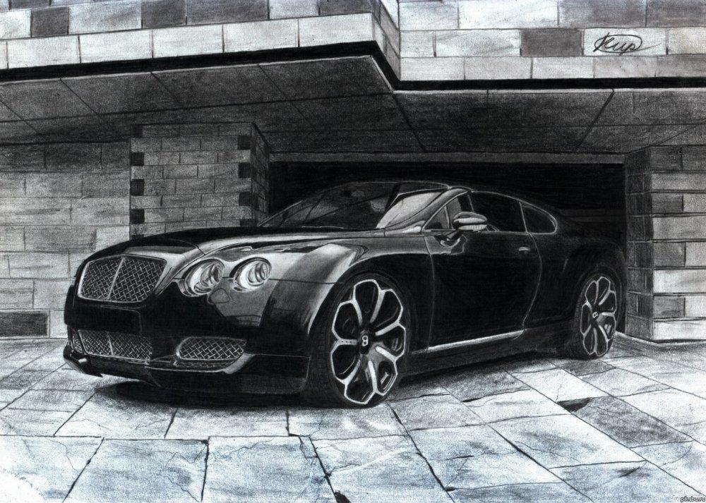 Картинки крутых нарисованных машин