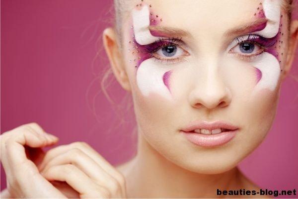авангардный макияж-8