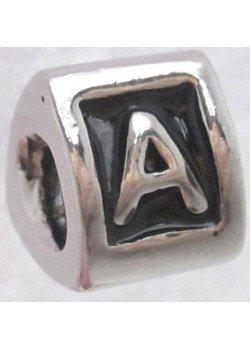 буква A -шарм для браслета пандора