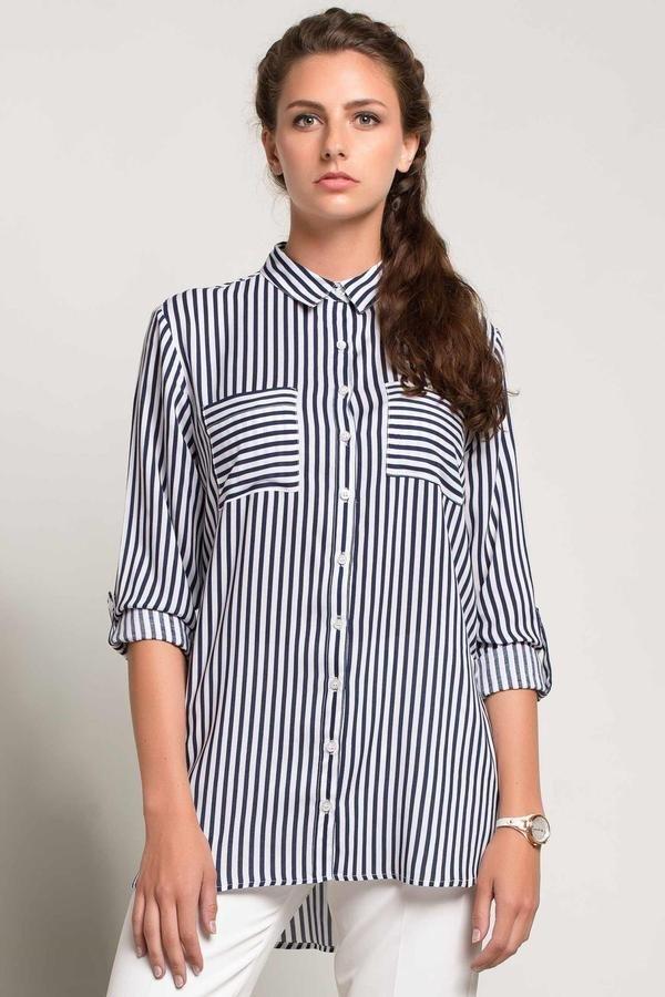 D8110AZ14SMW83 %100 Viskoz Супер распродажа! | Женские блузки, рубашки