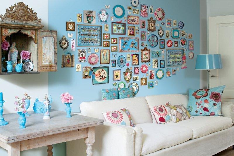 Декор стен квартиры своими руками: идеи, описание, фото