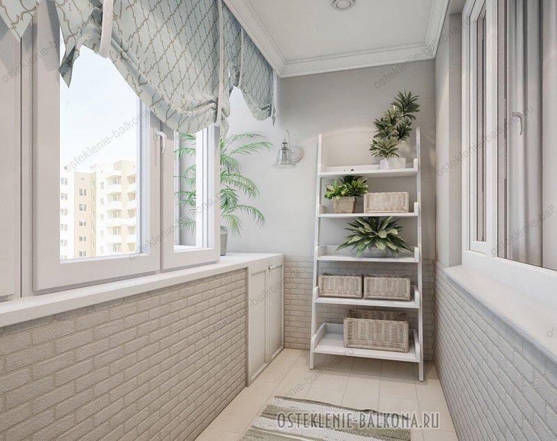 Дизайн интерьера балконов и лоджий на фото и видео