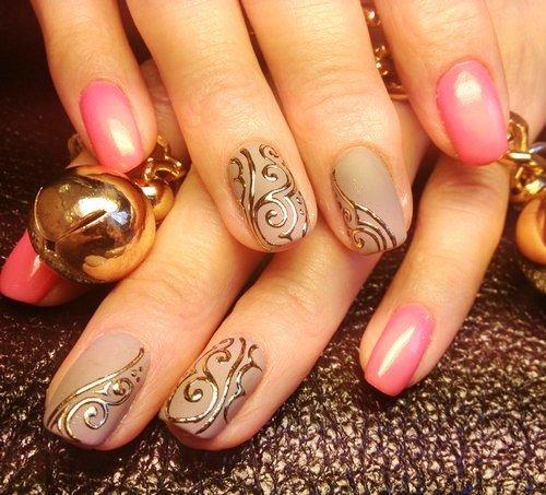 Дизайн ногтей с лаком. Фото подборка лучших идей.