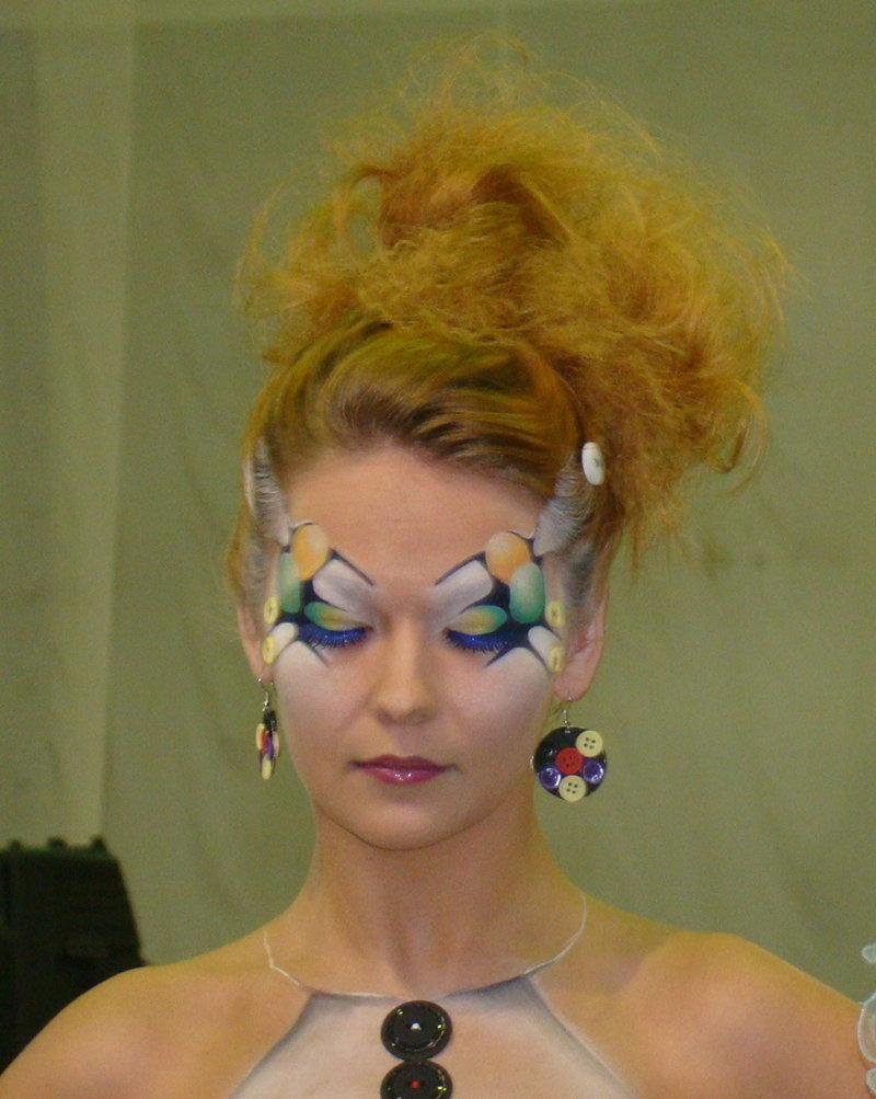 Фантазийный макияж фото | LadyLama