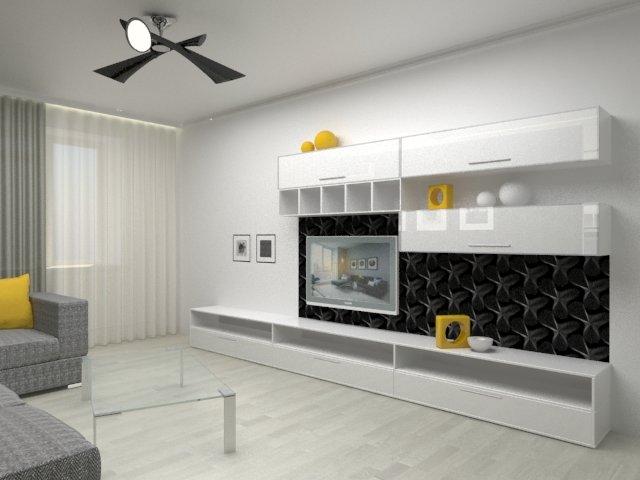 Гостиная «Arco» - Интерьер гостиной | Дизайн интерьера