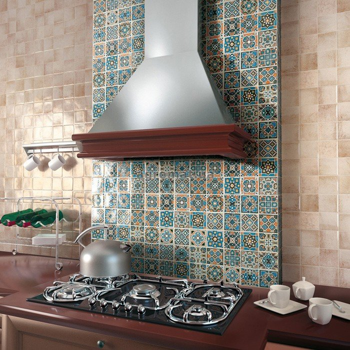 Кафельная плитка в стиле пэчворк, дизайн интерьера, фото и видео | Все о дизайне и ремонте дома