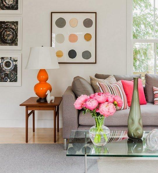 Как расставить яркие акценты в интерьере | Sweet home
