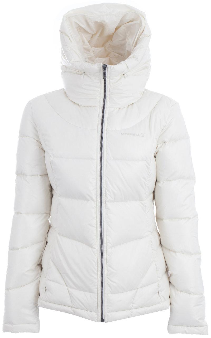 Куртка пуховая женская Merrell светло-бежевый цвет - купить за 4499 руб. в интернет-магазине Спортмастер