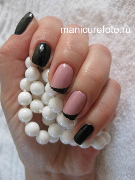Маникюр на короткие ногти - Маникюр фото .ru