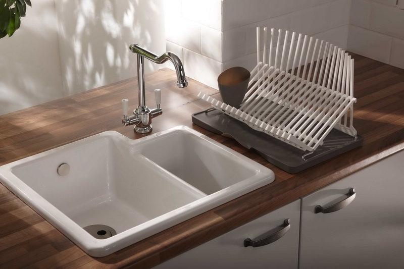 Материалы и дизайн кухонной мойки   60 фото