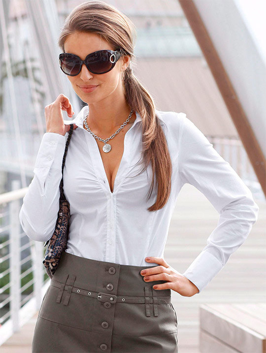 Модные блузки 2014 —  50 фото