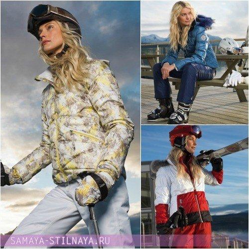 Модные горнолыжные костюмы женские Luhta Осень-Зима 2012-2013