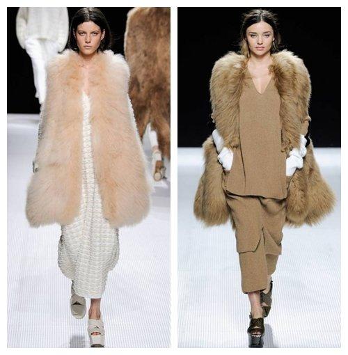 МОДНЫЕ МЕХОВЫЕ ЖИЛЕТЫ ОСЕНЬ-ЗИМА 2014-2015, ФОТО - Мода осень-зима 2014-2015, фото - Мода и стиль - Каталог статей - Мэджик Леди - сайт для женщин