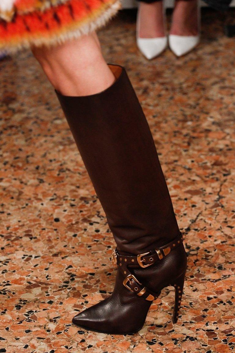 Модные сапоги на высоком каблуке 2015 – Emilio Pucci