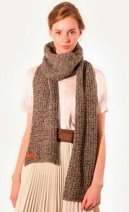 Модные шарфы осень-зима 2014-2015 года - фото, видео. Мода, стиль