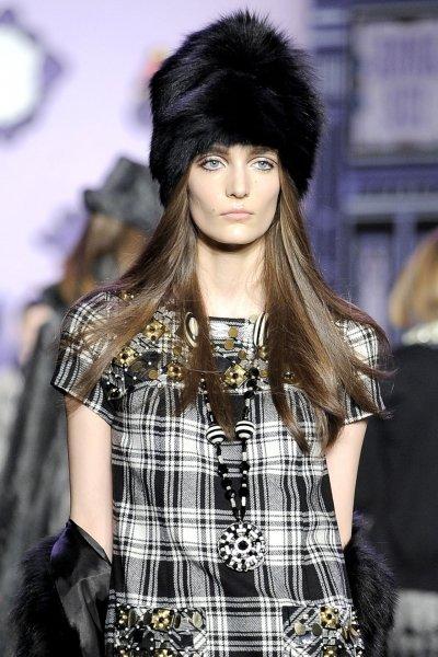 Модные женские шапки осень-зима 2011-2012 — фото-обзор
