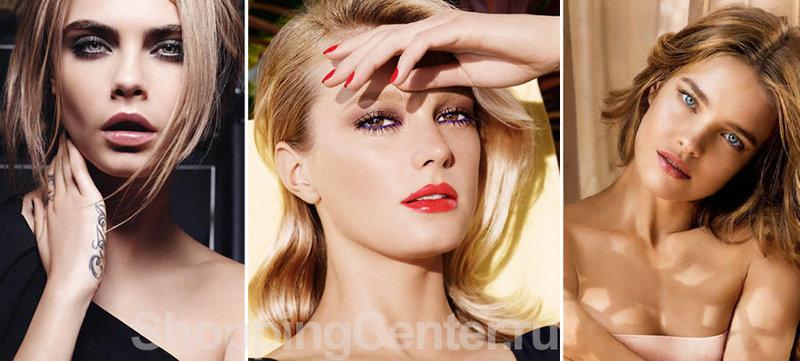 Модный макияж 2015 года, модные тенденции. Фото