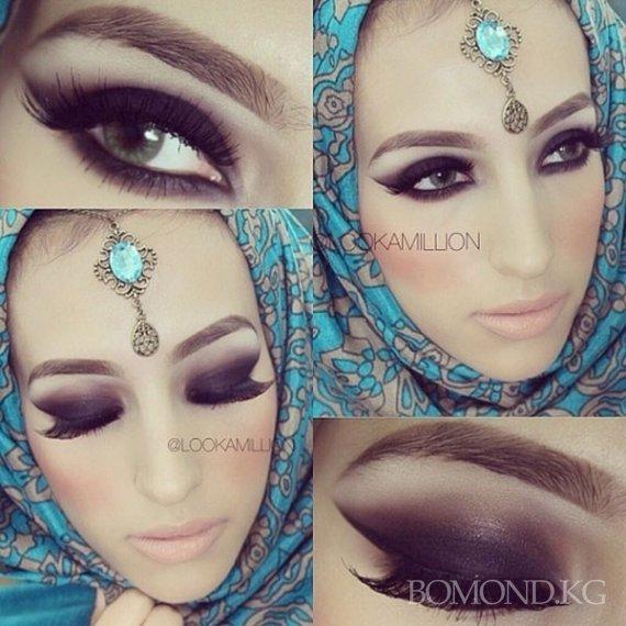 Наикрасивейший Арабский Макияж Глаз: Видео Фото Пошагово