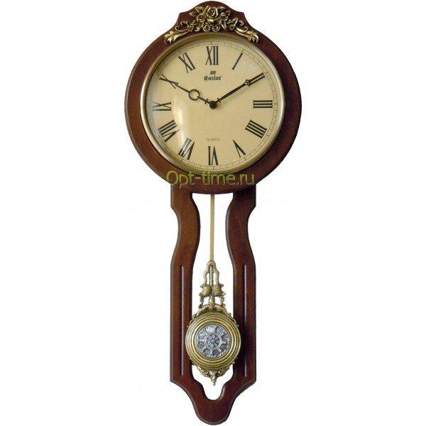 Настенные часы оптом. Часы Gastar (Гастар) в деревянном корпусе оптом в Москве