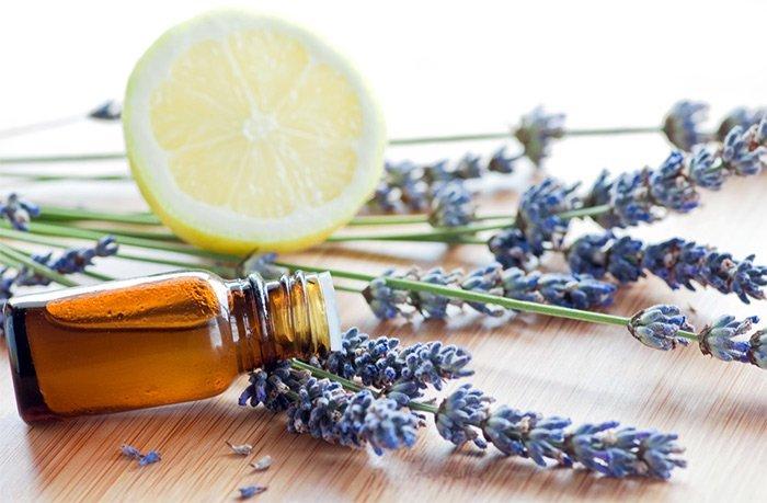 натуральное эфирное масло, лаванда и лимон
