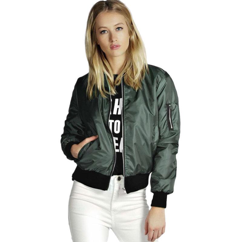 Новые стильные дамы куртки для женщин свободного покроя с длинным рукавом передняя молния пальто мода куртка женщин куртку 2015 спортивные куртки купить на AliExpress