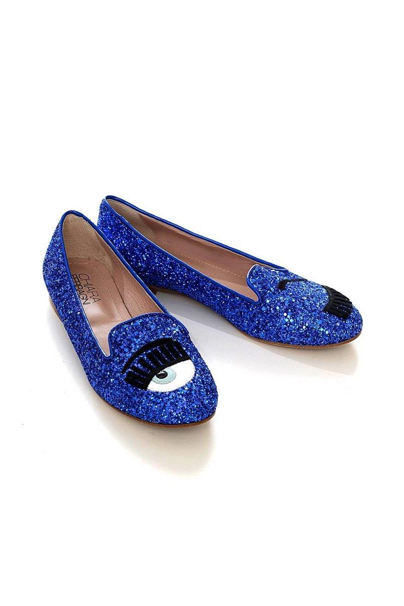 Обувь женская Слиперы CHIARA FERRAGNI (SCARPA/15.3). Купить за 18900 руб.
