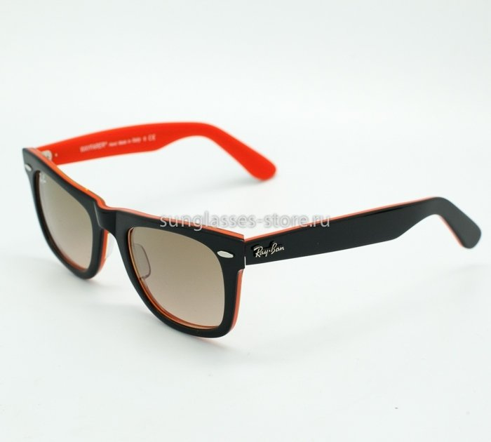 Очки Ray ban Rb2140 wayfarer 1002/51 50x22 3n orange/black