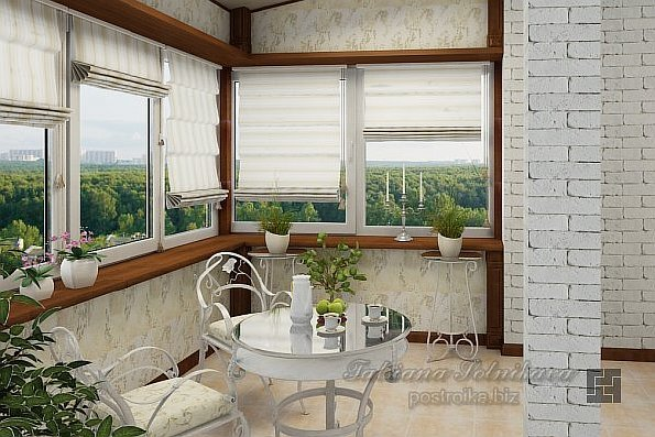 Оригинальное оформление современных балконов и лоджий (фото)