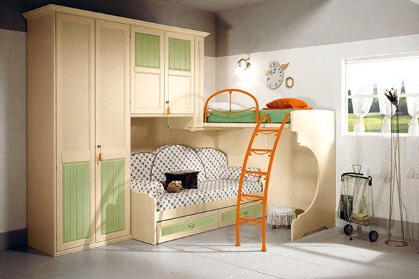 Особенности модульной мебели для детской комнаты