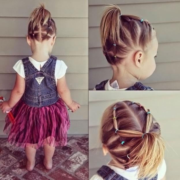 прически на маленьких девочек на короткие волосы фото