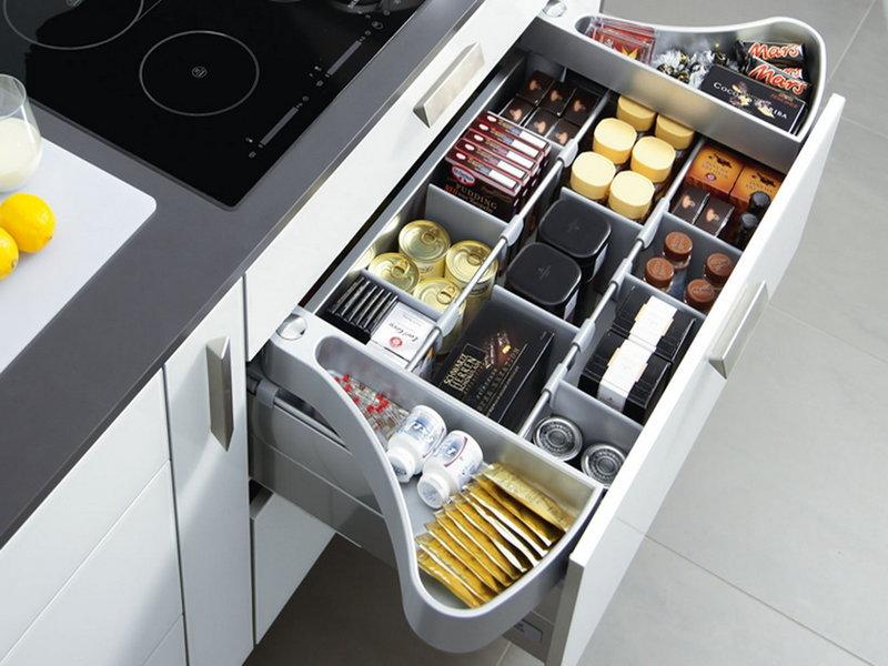 Системы хранения на кухне. Фото 9