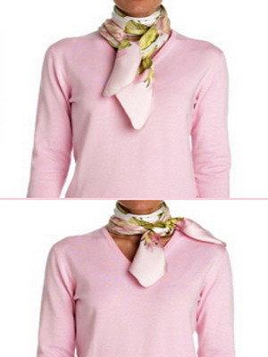 Способы завязывания шарфов на шее: фото и видео способов намотки слинга и ношения шарфов