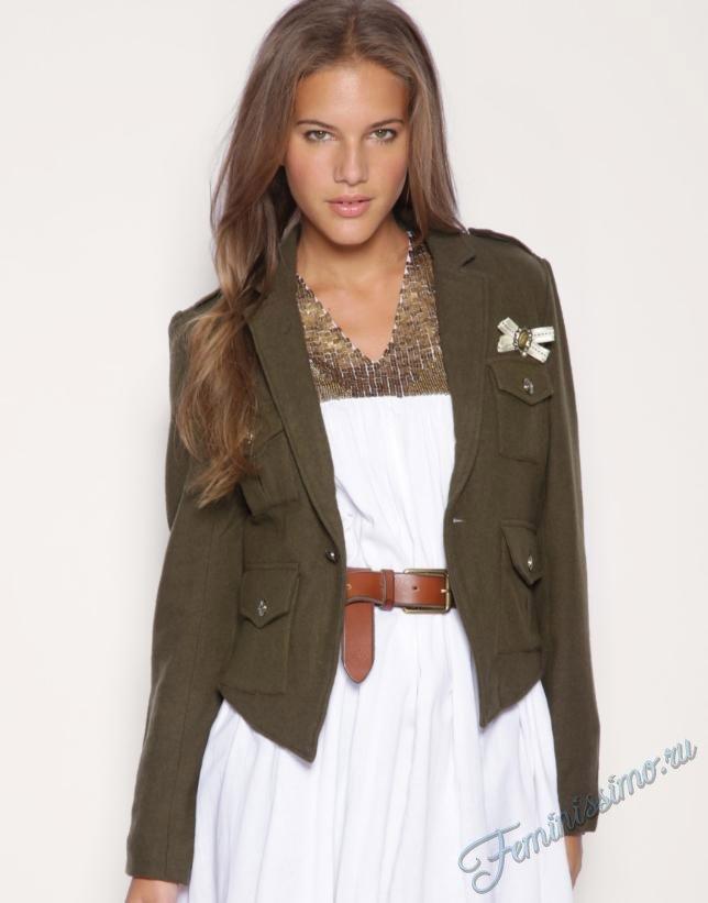 Стиль милитари в женской одежде - фото | Feminissimo.ru - женский журнал