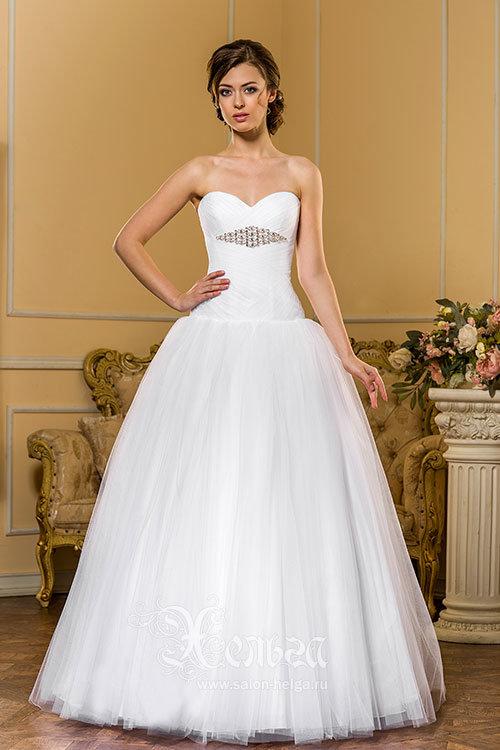Свадебное платье на корсете, модель Алекса-2