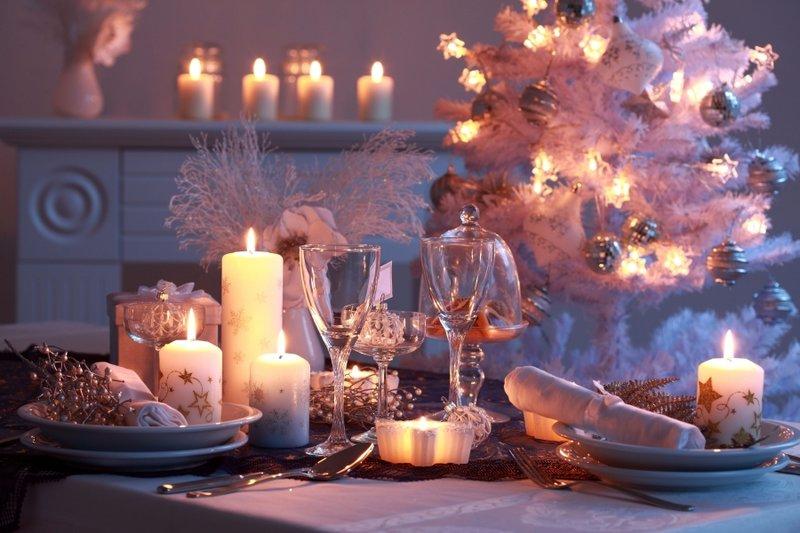 Свечи при оформлении новогоднего интерьера | женский онлайн журнал «Pretty Women Life»