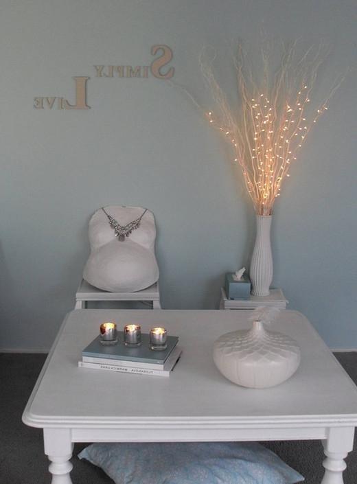 Три свечи. Гостиная
