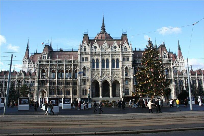 Предновогодний Будапешт.