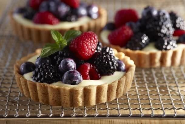Тарт с ягодами