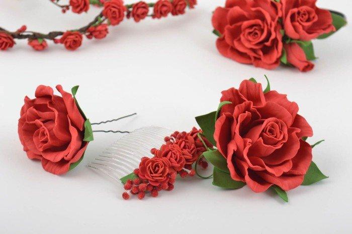 Ромашки своими руками роза
